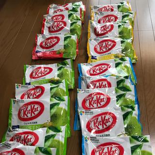 ネスレ(Nestle)の【送料無料/1袋140円】キットカットミニ/ウェルネス抹茶(菓子/デザート)