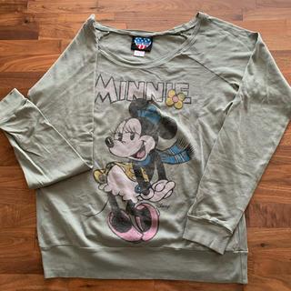 ジャンクフード(JUNK FOOD)のジャンクフードのミニーちゃんロンT(Tシャツ(長袖/七分))