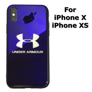 アンダーアーマー(UNDER ARMOUR)のiPhoneXS iPhoneX 鏡面 ケース アンダーアーマー (iPhoneケース)