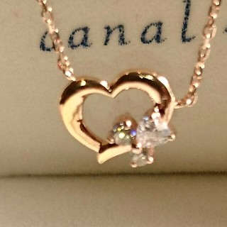 canal4℃ - canal4℃ silverネックレス ハート