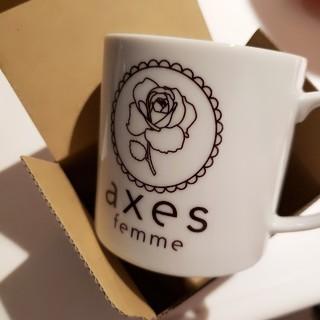 アクシーズファム(axes femme)のaxes femme☆ノベルティマグカップ ローズ(ノベルティグッズ)