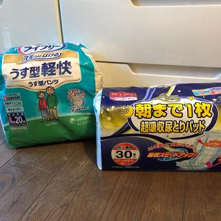 ユニチャーム(Unicharm)のライフリー うす型パンツ(おむつ/肌着用洗剤)