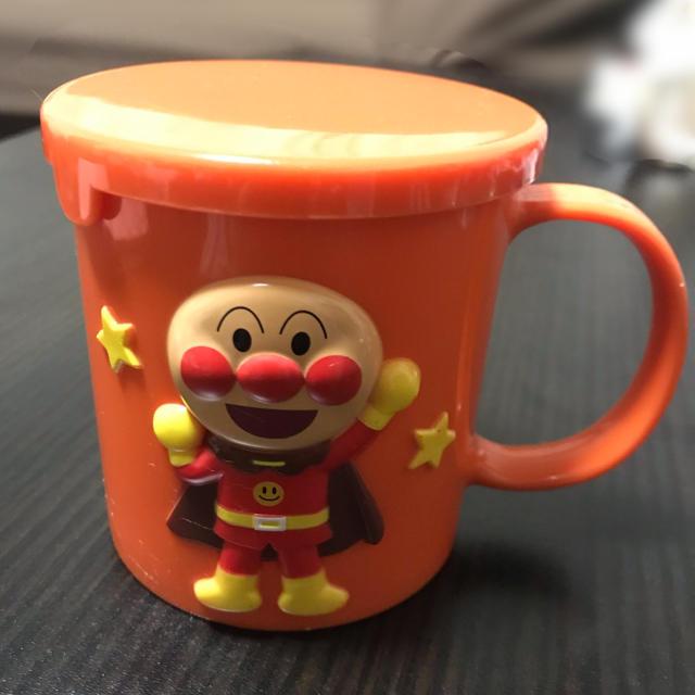 アンパンマン(アンパンマン)の【ユリ様】アンパンマンコップ(非売品) キッズ/ベビー/マタニティの授乳/お食事用品(マグカップ)の商品写真