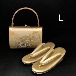 草履バッグ セット Lサイズ(新品) #013(下駄/草履)