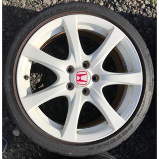 ホンダ - ホンダ シビック タイプR FD2 純正ホイール 4本 タイヤ付 18インチ