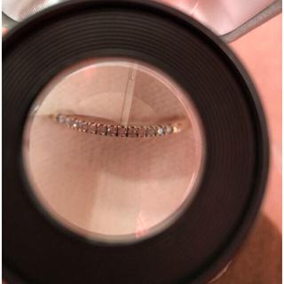 クミキョク(kumikyoku(組曲))のK10  イエローゴールドダイヤモンドリング(リング(指輪))