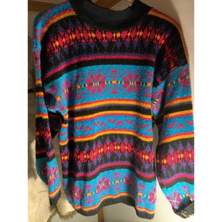 チチカカ(titicaca)の古着屋購入 柄ニット(ニット/セーター)