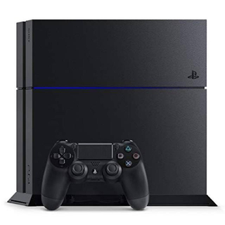 PlayStation4 - playstation 4 cuh-1200a jet black 500gb