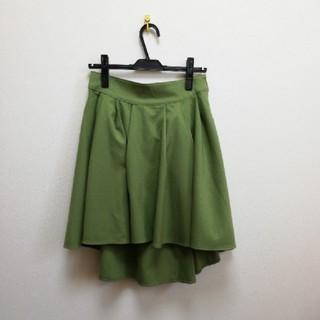 スカート レディース L(ひざ丈スカート)