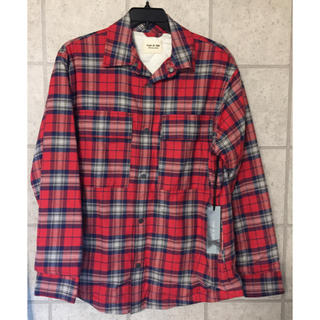 FEAR OF GOD - 新品 未使用 FEAR OF GOD FLANNEL SHIRT JACKET