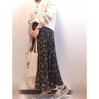 LOWRYS FARM - ❤️✨週末限定セール✨❤️花柄ロングプリーツスカート