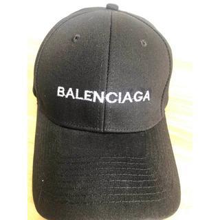 Balenciaga - [2枚6000円送料込み]BALENCIAGA  バレンシアガ  キャップ  黒
