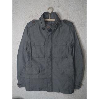 ジュンメン(JUNMEN)の5304 JUNMEN スタンドカラー ジャケット カバーオール エポーレット(カバーオール)