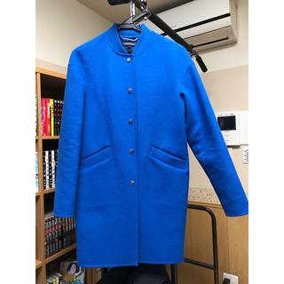 トミーヒルフィガー(TOMMY HILFIGER)のトミーヒルフィガー コート ブルー ブルゾン(ブルゾン)