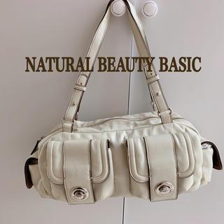 ナチュラルビューティーベーシック(NATURAL BEAUTY BASIC)のナチュラルビューティーベーシック バッグ ホワイト(トートバッグ)