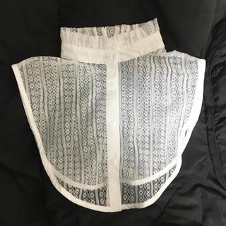 ウィゴー(WEGO)の【未使用】つけ襟 白 レース(つけ襟)