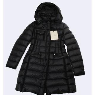 モンクレール(MONCLER)のモンクレール  エルミンヌ 【0】【ブラック】ダウン ジャケット コート(ダウンコート)