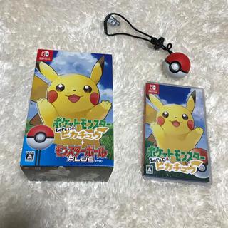 Nintendo Switch - ポケットモンスター Let's Go! ピカチュウ モンスターボール Plusセ