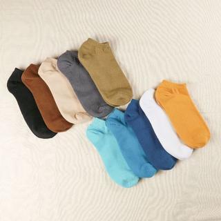 メンズ サイズ26~28 綿靴下 10足セット スニーカー丈(ばら売り可)