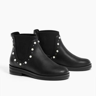 ZARA KIDS - 新品 ザラキッズ    サイドゴア ブーツ  19cm 20cm
