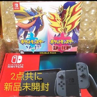 任天堂 - 新型 ニンテンドースイッチ グレー & ポケットモンスターダブルパック セット