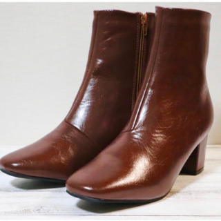 SESTO ブラウン ショートブーツ(新品)(ブーツ)