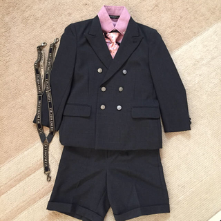 ヒロミチナカノ(HIROMICHI NAKANO)のヒロミチナカノ男の子スーツ5点セット(ドレス/フォーマル)