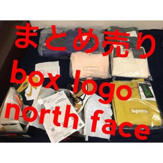 シュプリーム(Supreme)の値下げ可supreme box logo パーカー m north face (パーカー)
