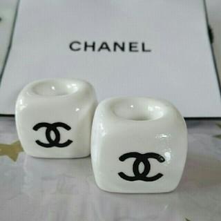 CHANEL - 陶器歯ブラシスタンド