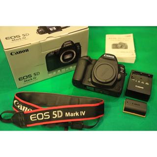 キヤノン(Canon)の【purius様専用】Canon EOS5D Mark Ⅳ ボディ【おまけ付き】(デジタル一眼)