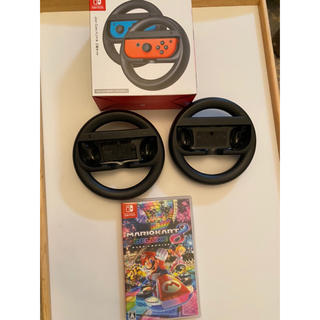 Nintendo Switch - 美品マリオカート8 デラックス+ジョイコンset switch