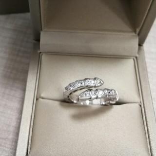 BVLGARI - Bvlgariブルガリ 大人気 リング 指輪 ホワイトゴールド プレゼント