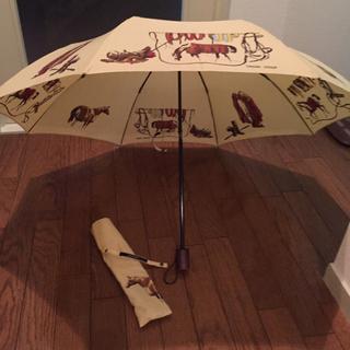 折り畳み傘★非売品 ホース柄(傘)