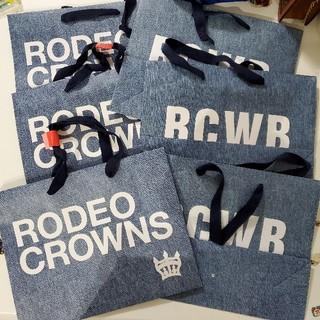 ロデオクラウンズワイドボウル(RODEO CROWNS WIDE BOWL)のロデオクラウンズ(ショップ袋)
