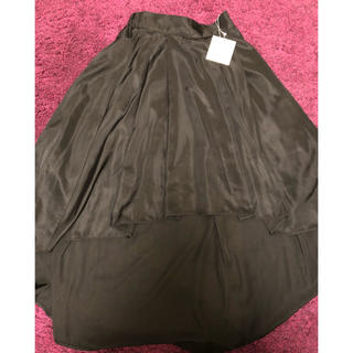 エイミーイストワール(eimy istoire)のeimy  istoire  エイミー  初期 ブラックスカート  新品(ひざ丈スカート)