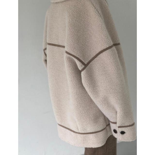 TODAYFUL(トゥデイフル)のボンディングボアコート トゥデイフル キナリ36 レディースのジャケット/アウター(ムートンコート)の商品写真