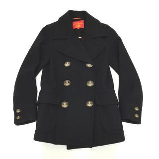 Vivienne Westwood - ヴィヴィアンウエストウッド オーブ ボタン Pコート 黒 2