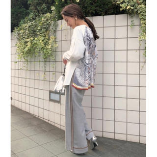 Ameri VINTAGE - Ameri vintage クルーズスカーフドッキングシャツ ブラウス