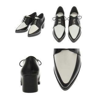 ムルーア(MURUA)の新品MURUA チャンキーヒールローファー/ブーティ /ムルーア ブラック(ローファー/革靴)