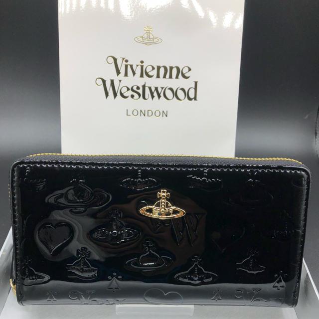 Vivienne Westwood(ヴィヴィアンウエストウッド)の【新品・正規品】ヴィヴィアン ウエストウッド 長財布 310 プレゼント レディースのファッション小物(財布)の商品写真