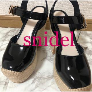 snidel - 定価13200円snidelウィッジソール