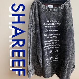 シャリーフ(SHAREEF)のSHAREEF DENIM PULL OVER シャリーフ  サイズ2(Tシャツ/カットソー(七分/長袖))