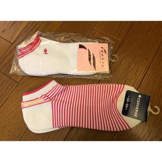コンバース(CONVERSE)の新品 ゴルフ 靴下 ソックス 23〜25㎝ 2点セット マルマン コンバース(ソックス)