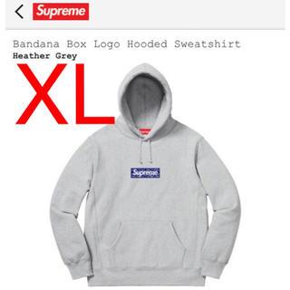 Supreme - 【XL】 Bandana Box Logo Hooded Sweatshirt