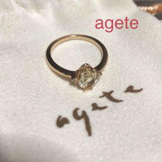 agete - アガット/agete / K10レモンクォーツダイヤリング