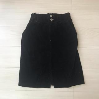 サンタモニカ(Santa Monica)の古着 コードュロイスカート(ひざ丈スカート)