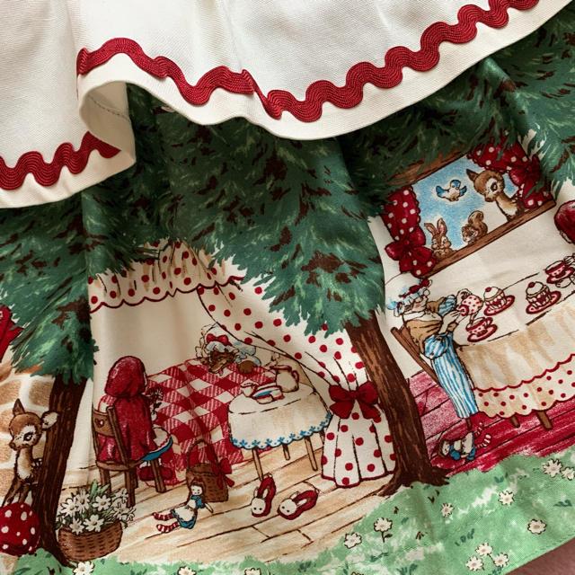 Shirley Temple(シャーリーテンプル)のシャーリーテンプル🎀赤ずきんちゃん絵本pt. 100  キッズ/ベビー/マタニティのキッズ服女の子用(90cm~)(ワンピース)の商品写真