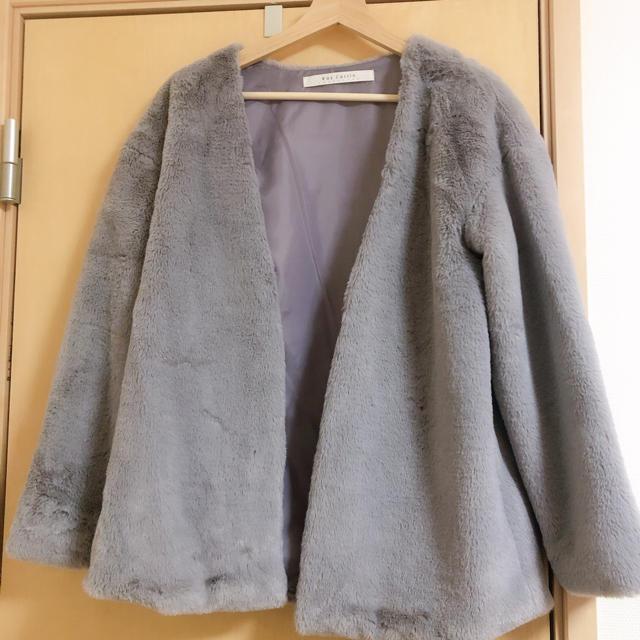 RayCassin(レイカズン)の【Ray Cassin】《アウター》 フェイクファージャケット レディースのジャケット/アウター(ブルゾン)の商品写真