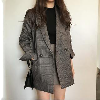TODAYFUL - グレンチェック ダブルブレスト スーツジャケット
