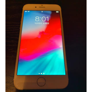 Apple - 【美品】最大容量92% iPhone 6 Silver 64 GB SIMフリー